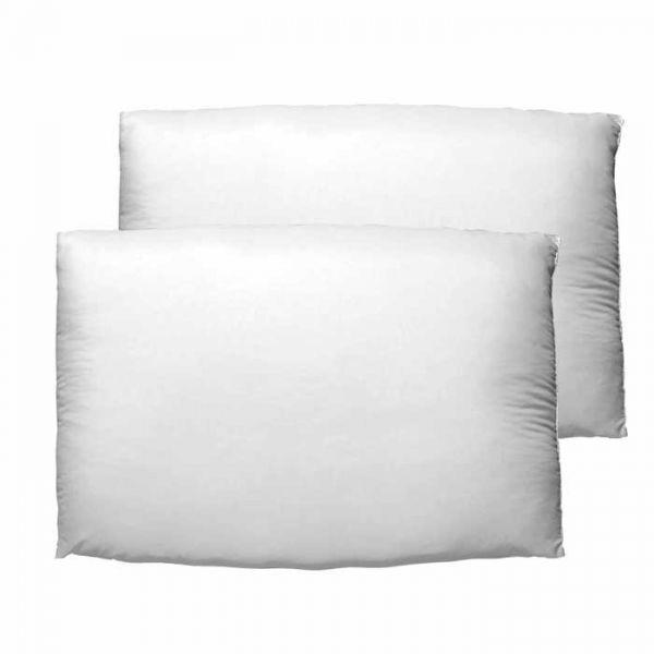 Almohada Microfibra Blanco Estandar Oferta 2P